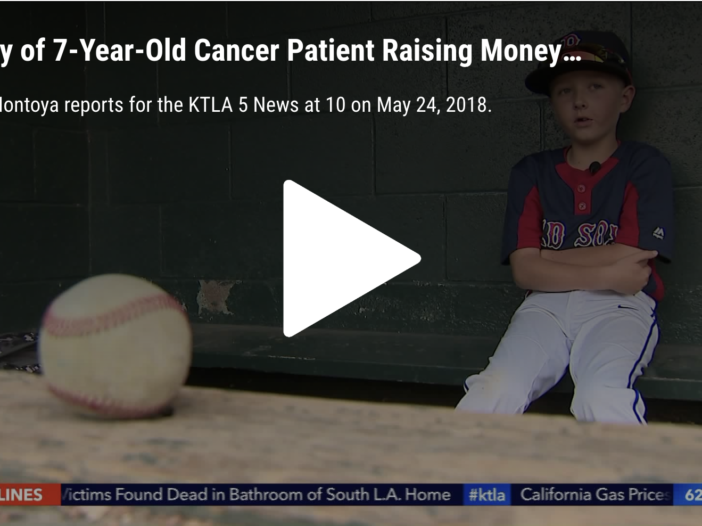 KTLA video about Dane Stromsborg
